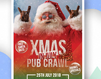 Xmas in July | Flyer Design | Poster Design