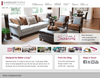 Sundquist Homes Website