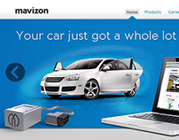 Mavizon corporate web site design