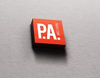 P.A.dance school branding