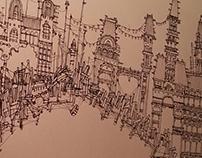 Conceptual Illustration- Bridge City