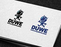 DUWE logo design
