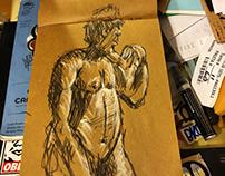 Drink n draw R. E. M. Gallery