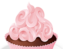 Cup Cake Lettering