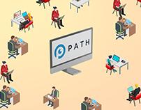 Path Start-up Infographics / Explainer