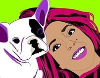 Doo & Lu Illustration