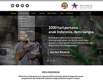 MCA-Indonesia (Website Redesign)