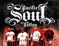 Pacific Soul Tattoo Flyer - Poster - Ad