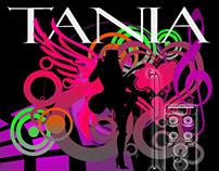 Diseño para Tania Trenquin, cantante