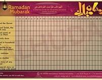 Ramadan Planner for kids