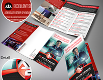 A2 Systems trifold brochure
