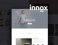 Innox : Free Creative PSD Web Template