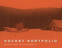 Pocket Portfolio | Business card concept