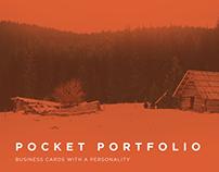 Pocket Portfolio | Business card concept