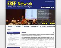 European Regional Economic Forum's website remake