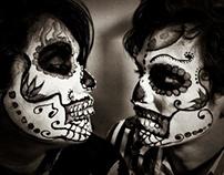 Vincent Vega/ Sugar skull