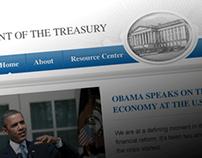 U.S. Department of the Treasury Website Redesign