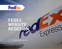 FedEx Web Concept