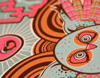 Spirit Owl - Screen Print