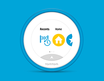 TomTom Vio User Interface