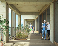Academic hospital of Amsterdam - Facade design