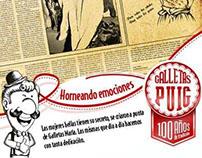 """Campaña """"Puig - 100 años de tradición"""""""