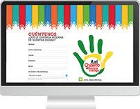 Marquetación Landing Page Jaime Vargas Campaña 2015