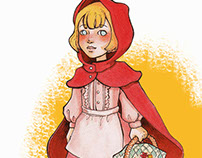 Little Red Riding Hood Ilustration