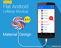 Android Lollipop GUI Kit V-5.1.1 (Vol-2)