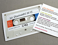 "Dell Summer Rocks — ""Mixtape"" card"