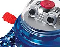 Toy Robot (Illustrator Drawing)