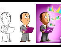 """Ilustraciones y banners para """"El rincón Dynamics"""""""