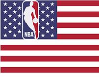 NBA City Flags x NBA logos