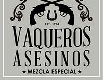 Vaqueros Asesinos Logo