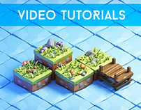 Video Tutorials How to draw & paint game art Photoshop