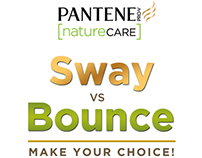 (BRANDING) Pantene Nature Care: Sway VS Bounce