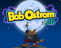 Bob Ostrom Studio Halloween Promo