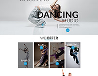 Website Design for Dance studios and schools