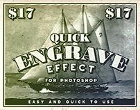 Quick Engrave Effect