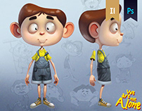 We are not alone: Character Design