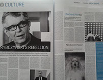 MORNER / newspaper project