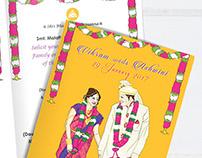 A Mangalore wedding: invite