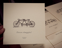 """Buon viaggio"" (Wedding gift)"