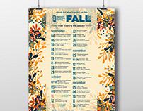 MAC Fall Calendar 2019
