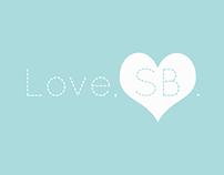 Love, SB. Designs | Branding