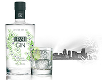 Gin Level London Dry Gin, by Teichenné