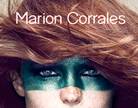 Marion Corrales / Brand new Identity & website