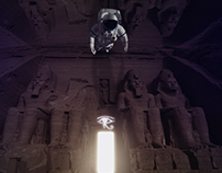 egypt in the space