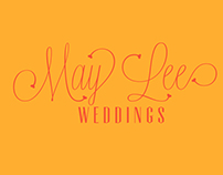 Logo Design : May Lee Weddings