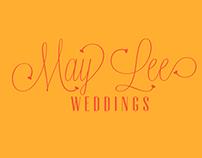 Logo Design : May Lee Weddings